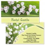 Beauty in the Valley Double-Sided Business Cards