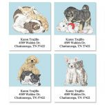 Best Friends by Linda K. Powell  Select Address Labels  (4 Designs)