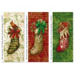 Christmas Stockings Supersized Address Labels