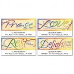 Faithful Words Deluxe Address Labels  (4 Designs)