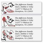 Graceful Shoes Classic Address Labels  (3 Designs)