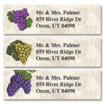 Grapes Classic Address Labels  (3 Designs)
