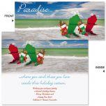Holiday Adirondack Slimline Holiday Cards