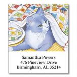 Living with Cats Select Address Labels  (12 Designs)