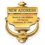 New Home Diecut Address Labels