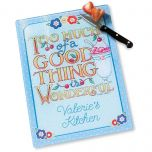 Personalized Glass Cutting Board  by Mary Engelbreit®