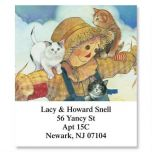 Scarecrow & Cats Select Address Labels
