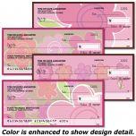 Shades of Pink Personal Checks