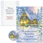 Snowy Cottage Christmas Cards
