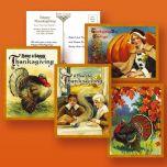 Victorian Thanksgiving Postcards
