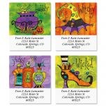 Wicked Select Address Labels  (4 Designs)