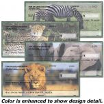 Wildlife of Africa Personal Checks
