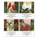 Winter Birds Select Address Labels  (4 Designs)