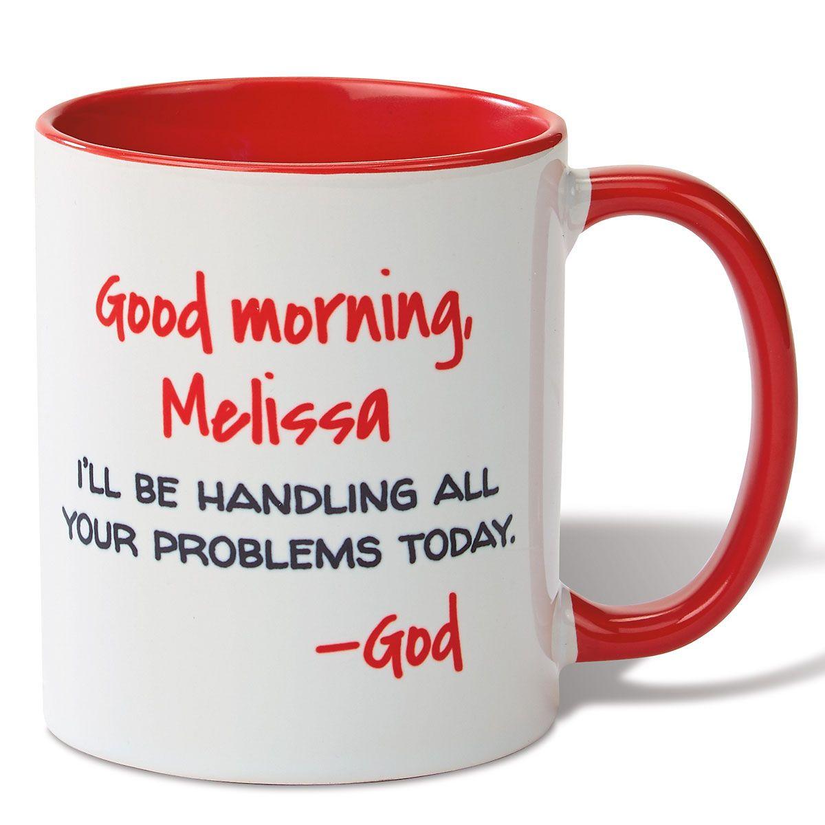 Good Morning Novelty Mug