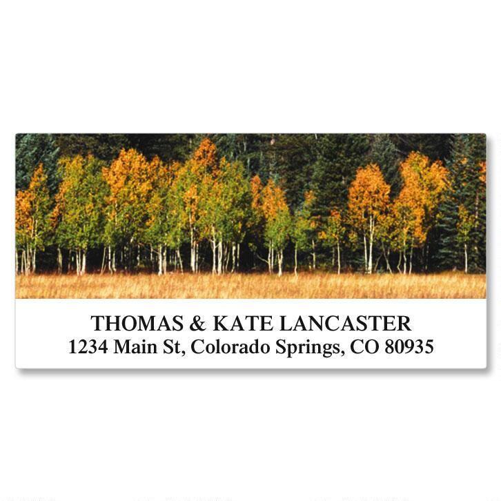 Autumn Colors Deluxe Return Address Labels  (24 Designs)