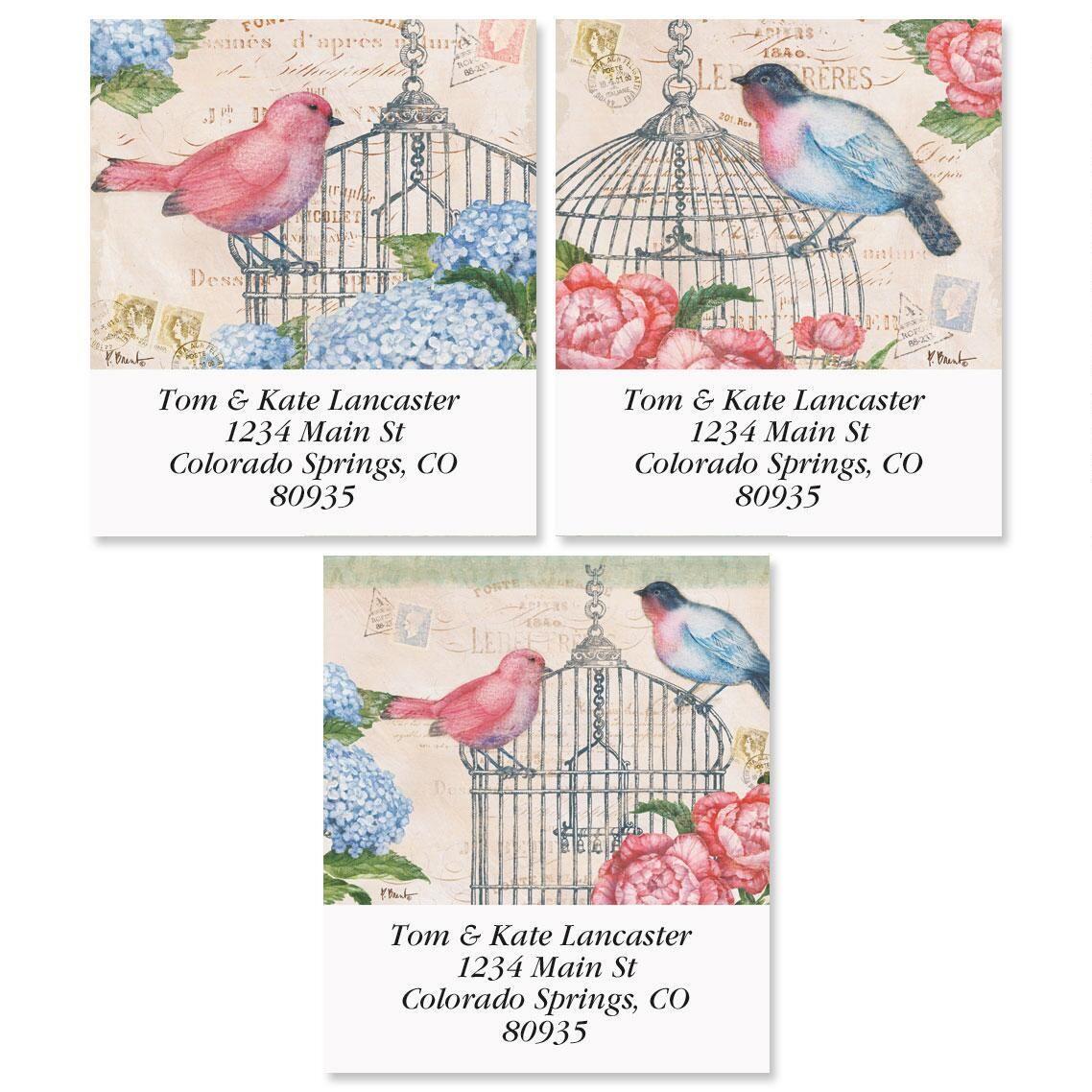 Bella Flora Select Return Address Labels  (3 Designs)