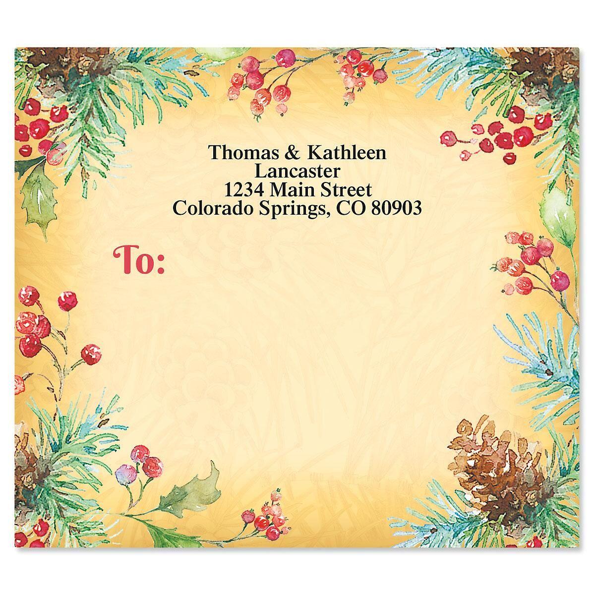 Botanical Joy Package Labels