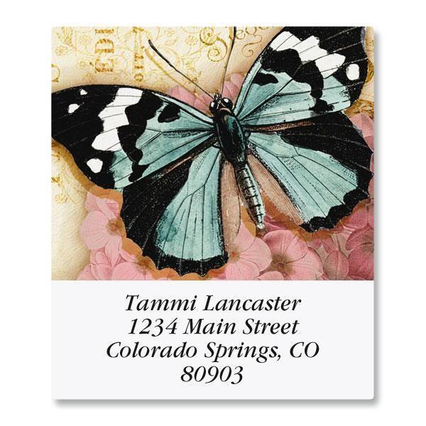 Butterfly Select Return Address Labels