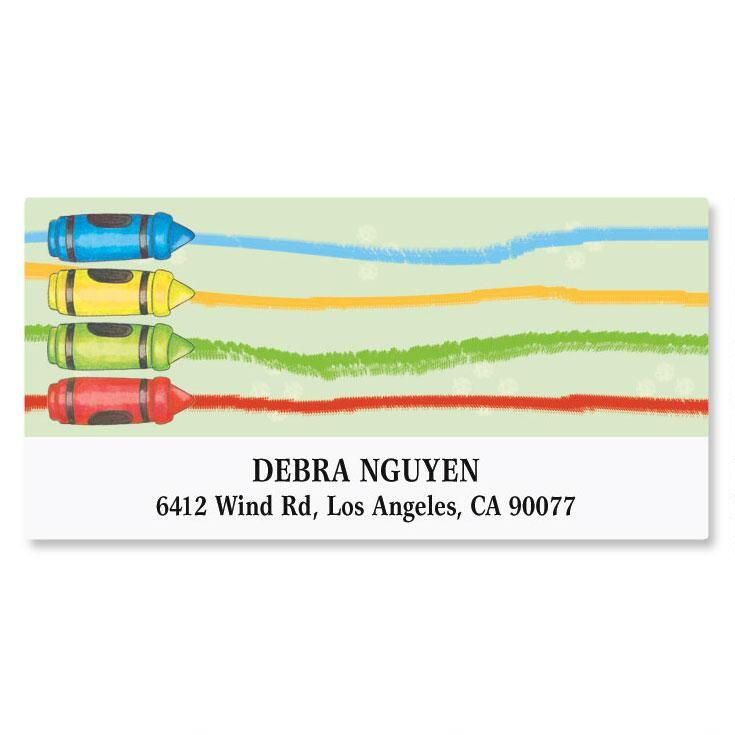 Child Care Deluxe Address Labels