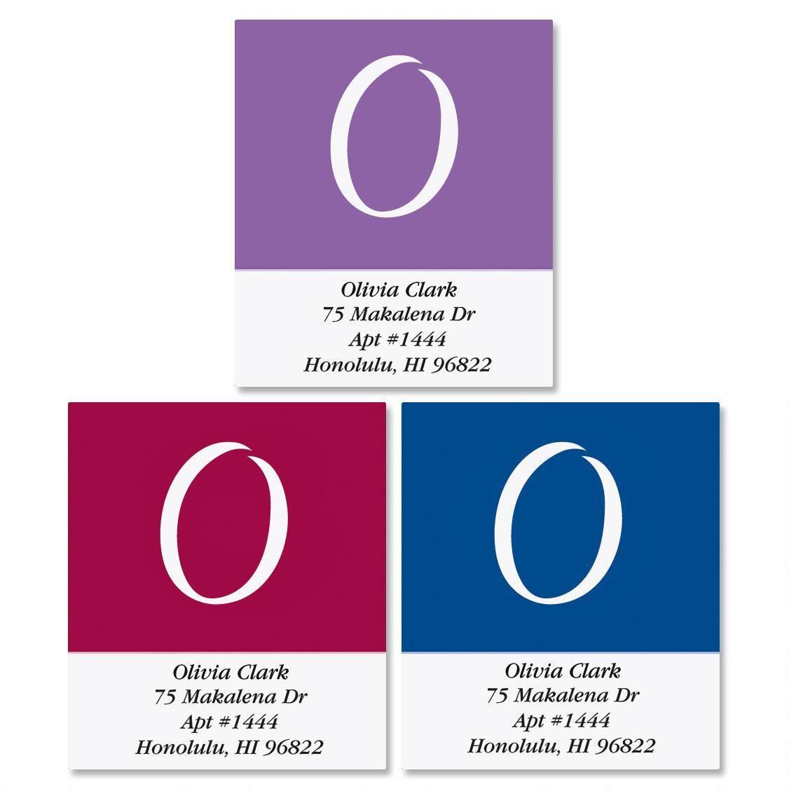Elegant Select Return Address Labels