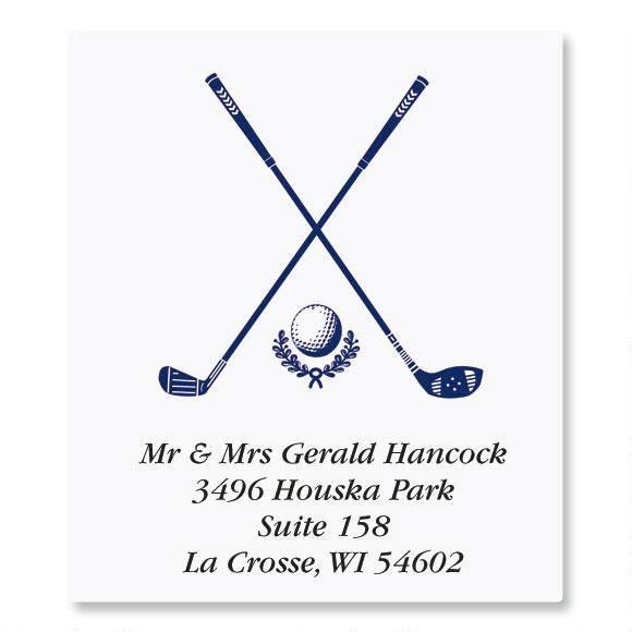Golf Select Address Labels