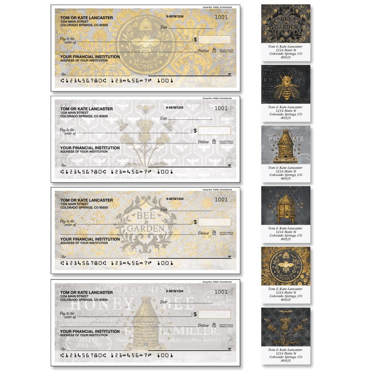Honey Bee Duplicate Checks with Matching Address Labels