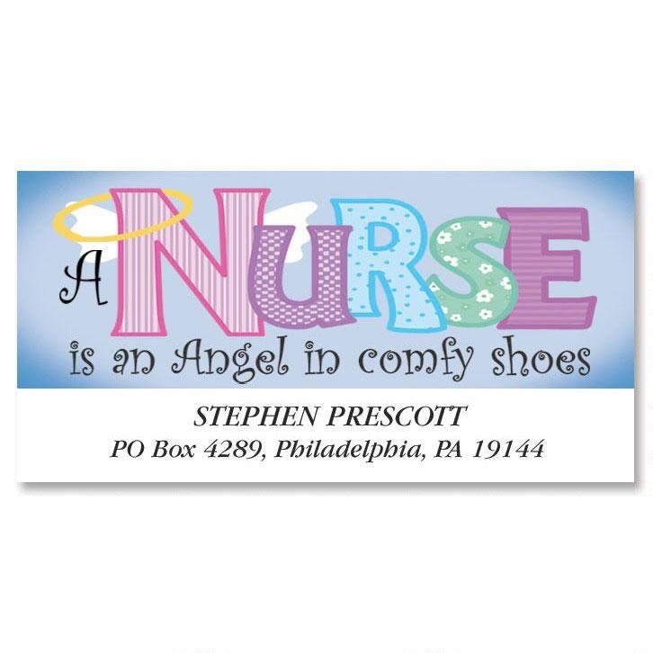 Nurse Deluxe Return Address Labels