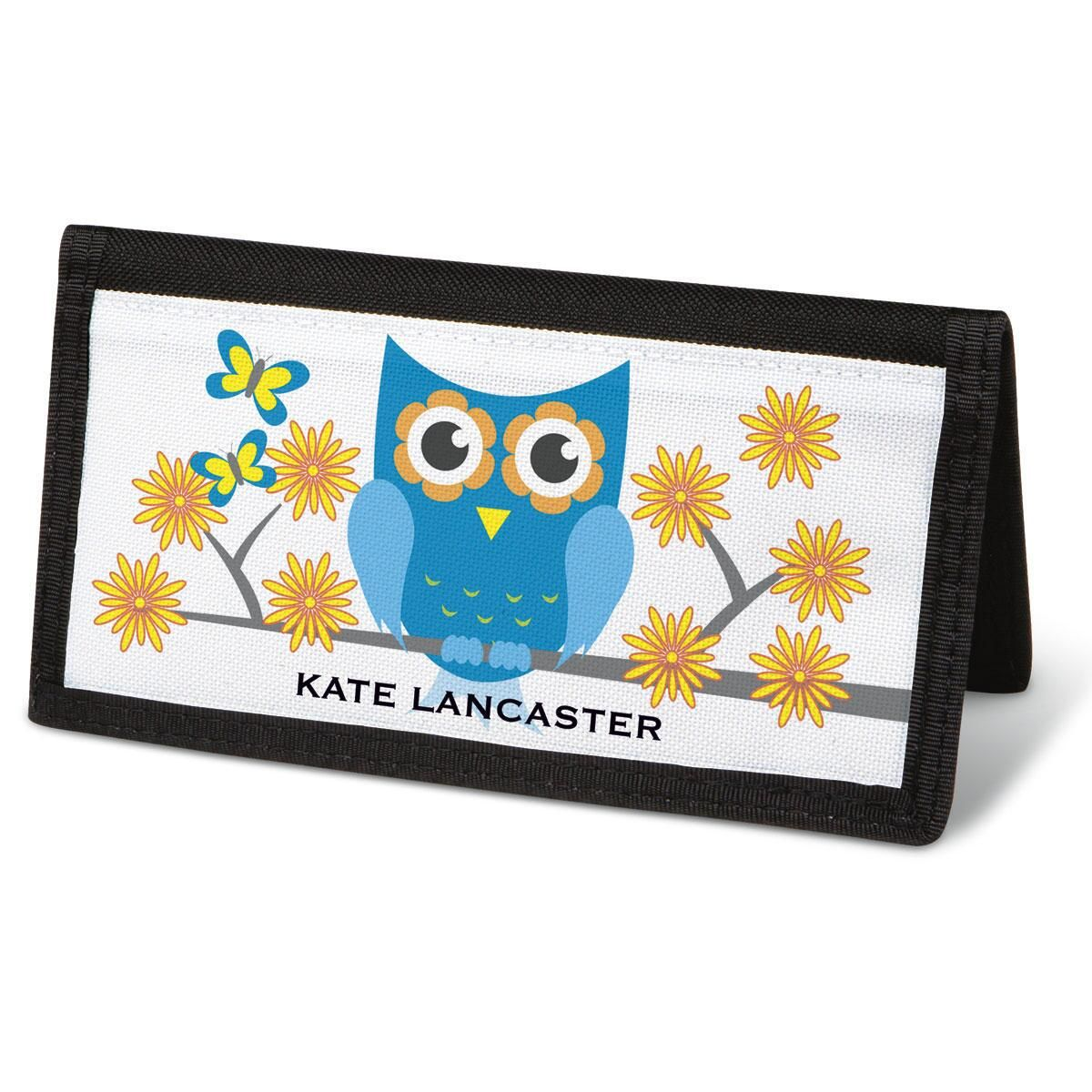 Owluminations Checkbook Cover - Personalized