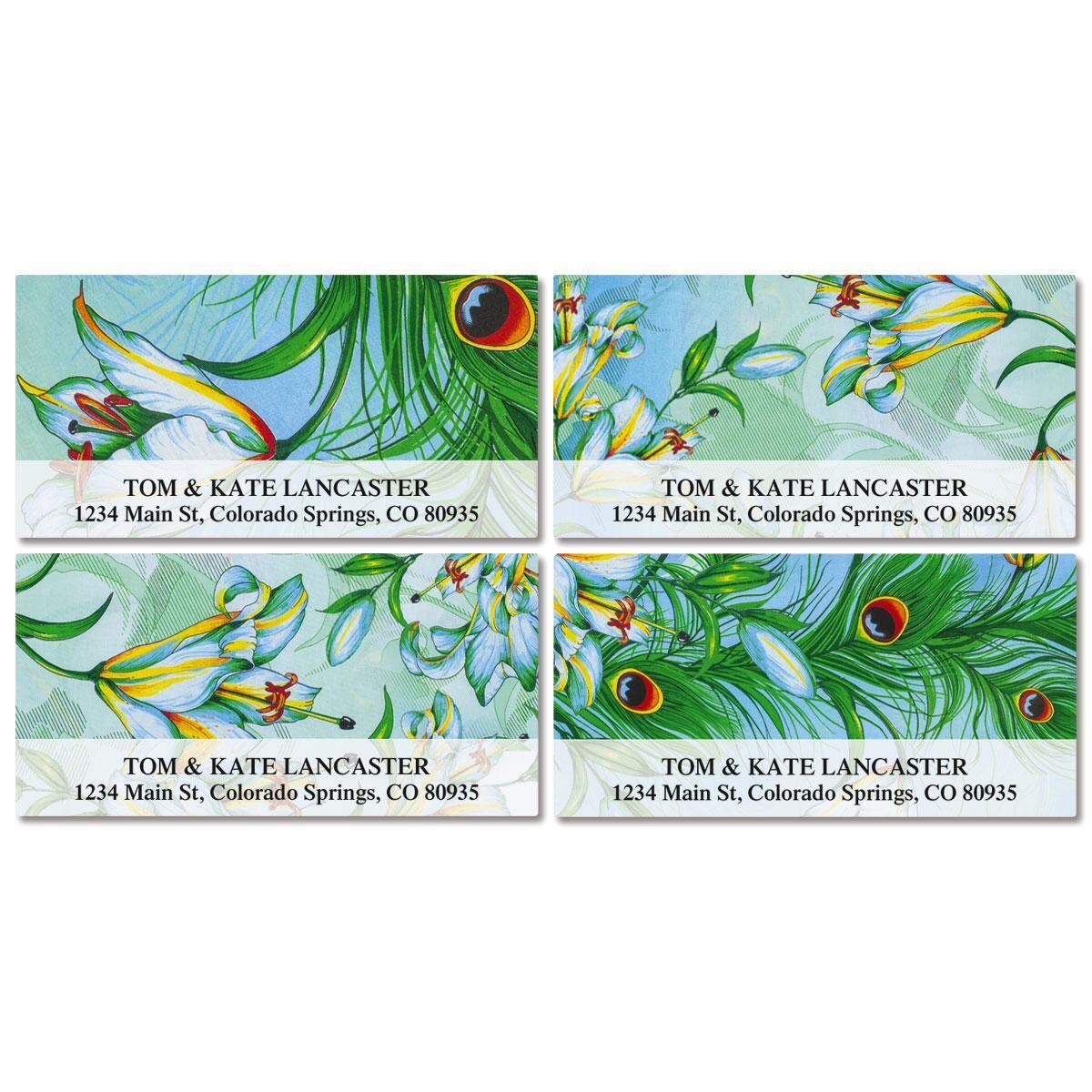 Purity Deluxe Return Address Labels  (4 Designs)