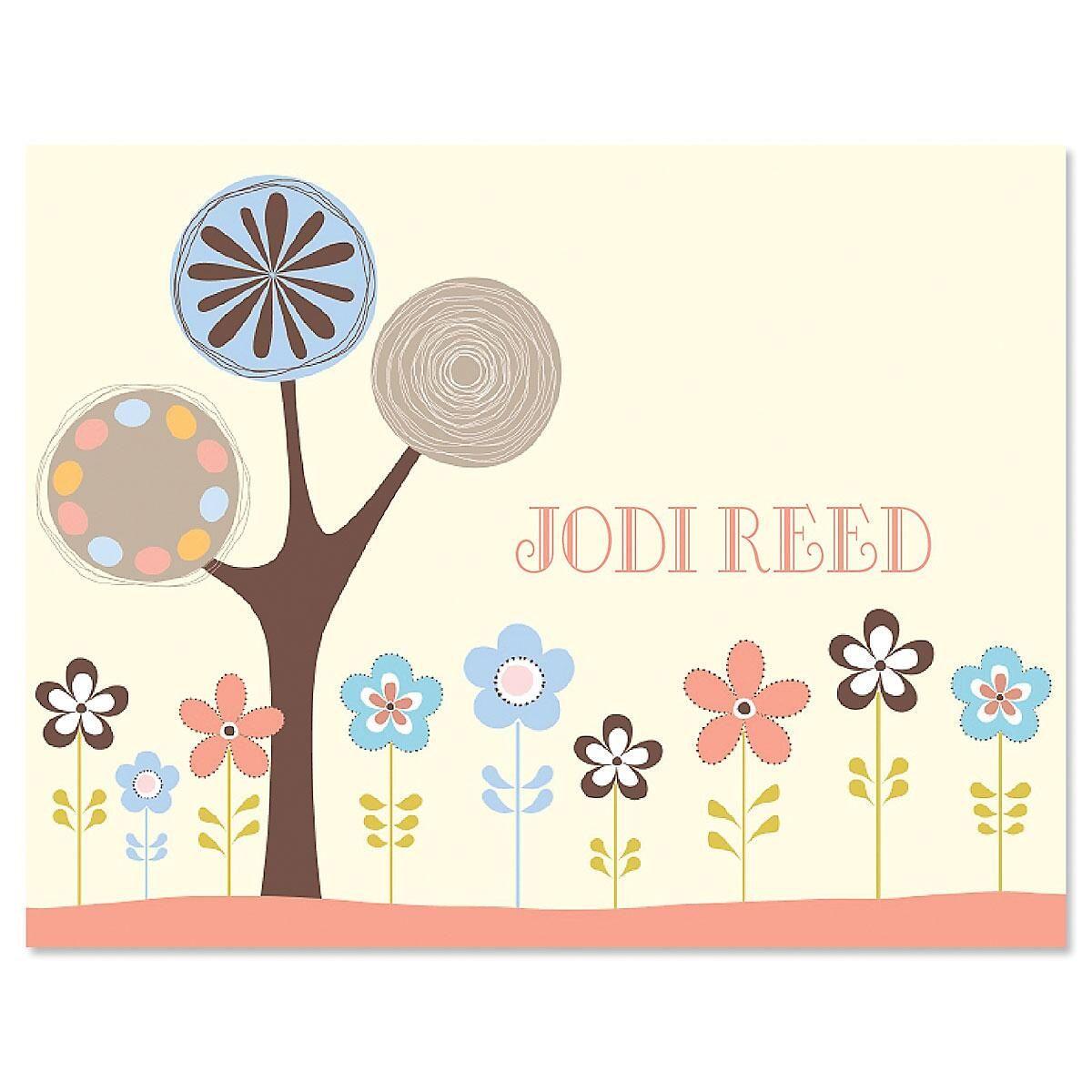 Serenity Custom Note Cards