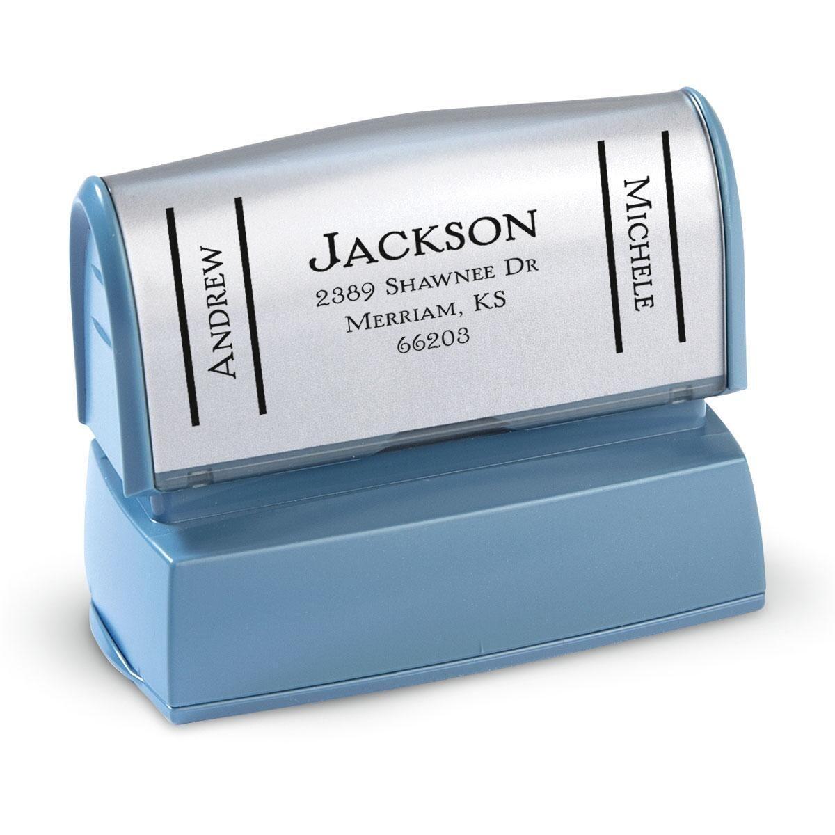 Side Show-Large Address Stamp