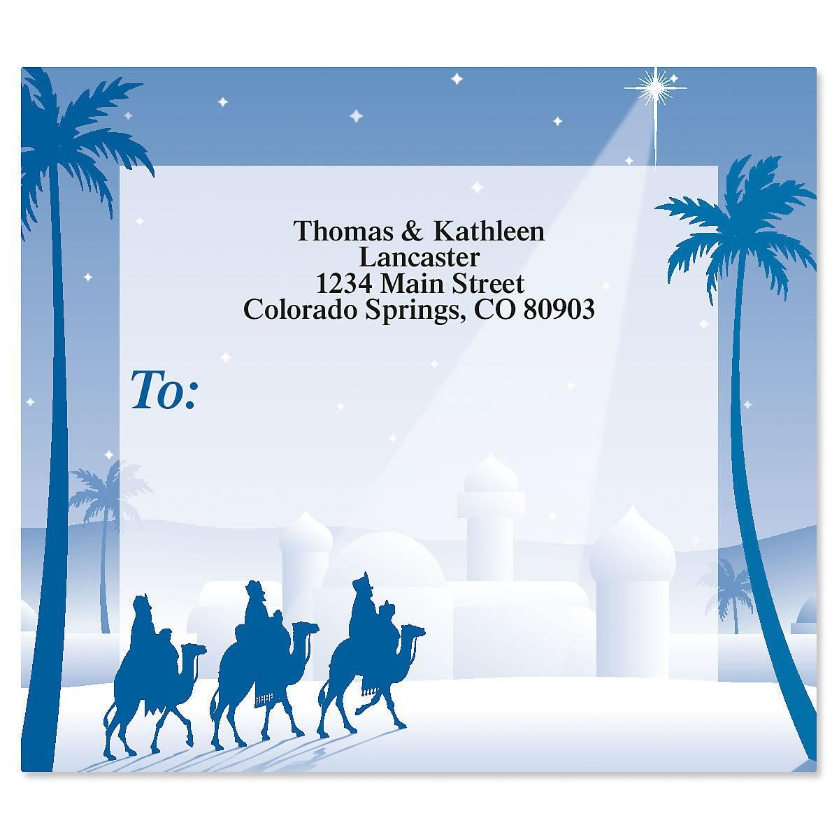 Wise Men Package Labels