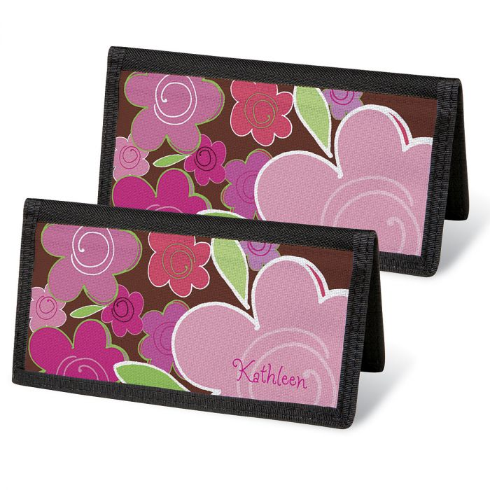 Shades of Pink Personal Checkbook Covers