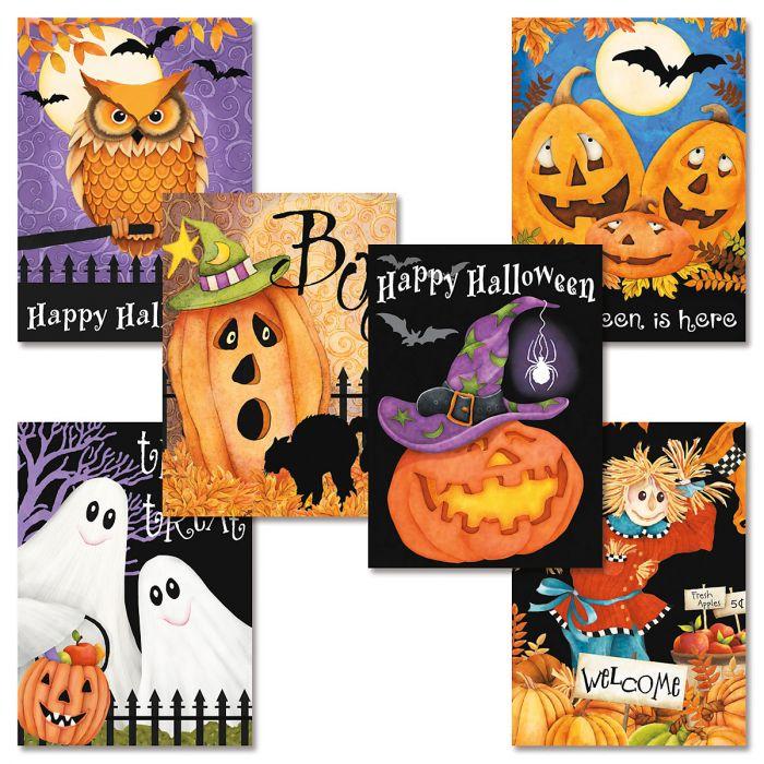 Happy Haunting Halloween Cards