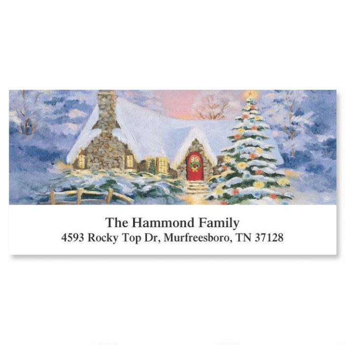 All Hearts Come Home  Deluxe Return Address Labels