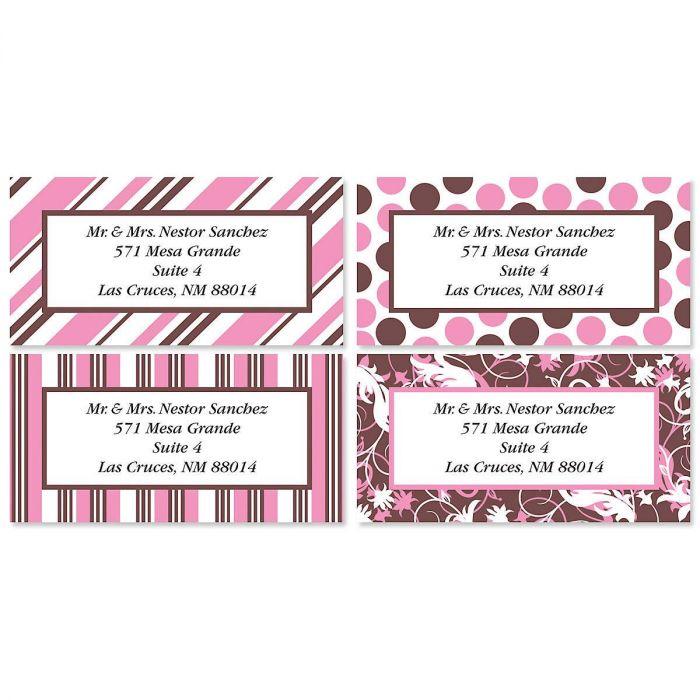 Everyday Dots & Stripes Address Labels  (4 designs)