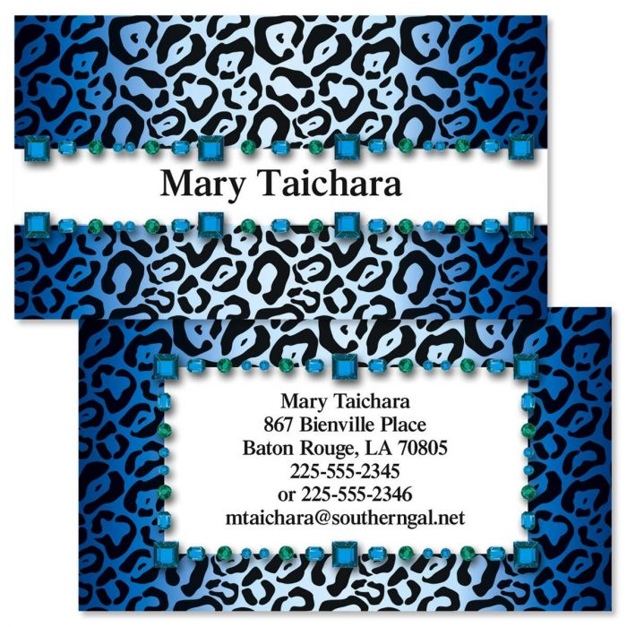 Exotic Double Sided Business Cards | Colorful Images