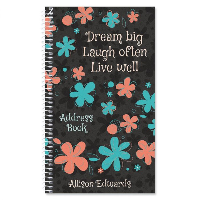 Flourish Personalized Lifetime Address Book