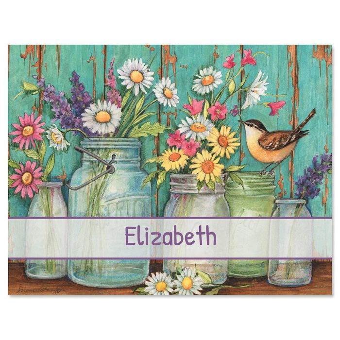 Garden Signs Custom Note Cards