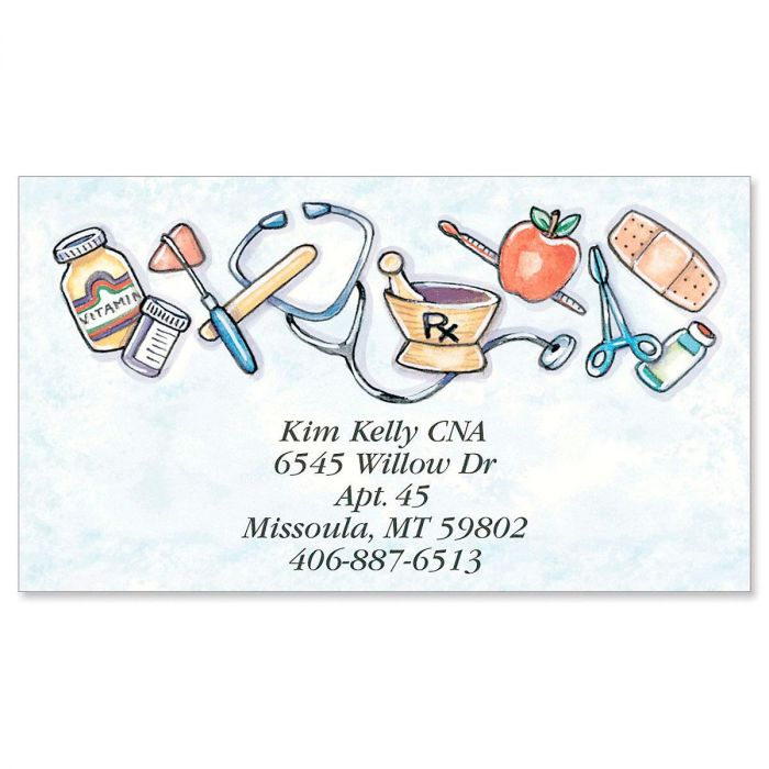 Health Care Business Cards