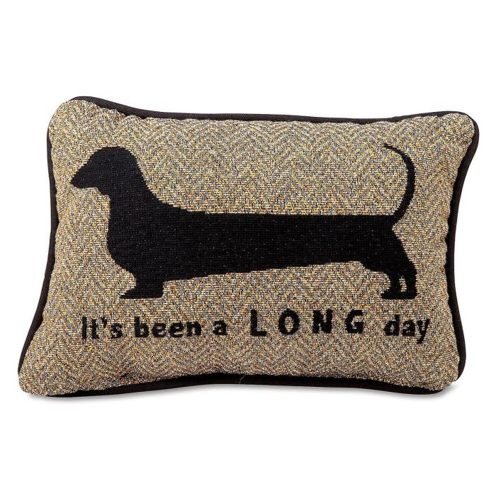 It's been a L O N G day Word Pillow