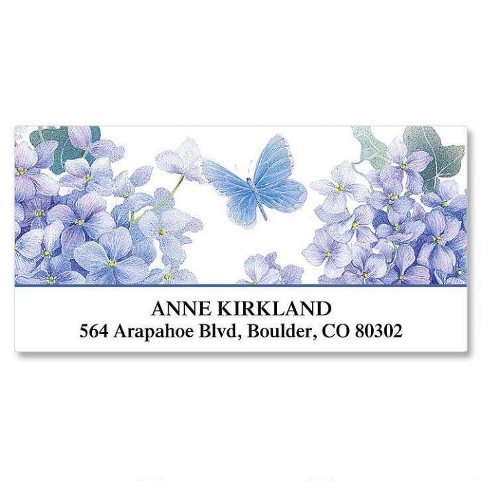 Lavender Beauty Deluxe Return Address Labels