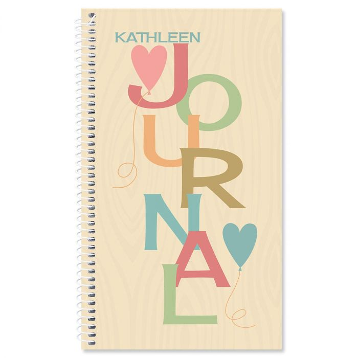 Natural Personalized Daily Journal