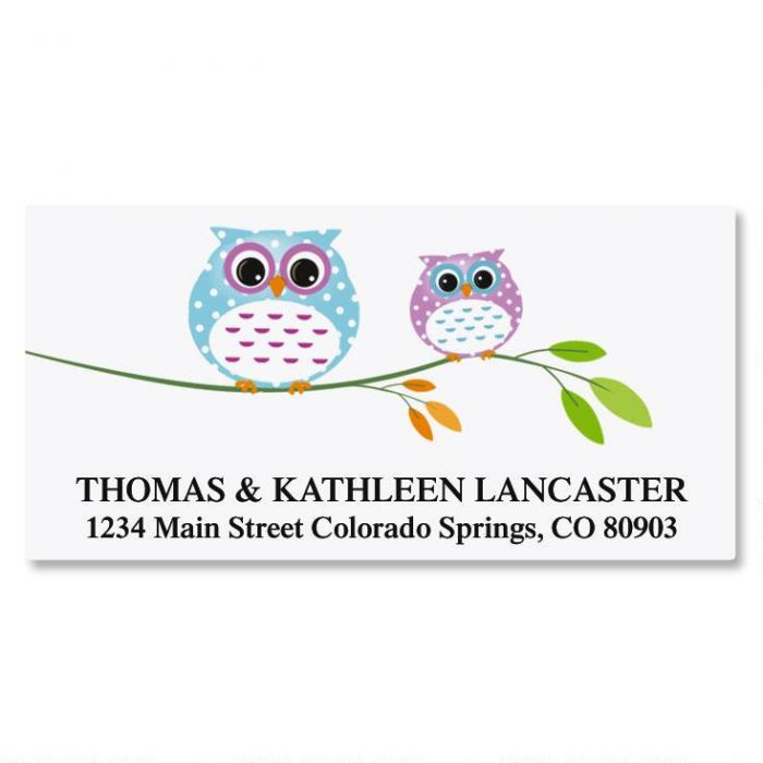 Owl Always Love You Deluxe Address Labels