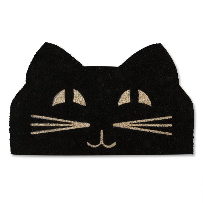 Cat Face Coir Doormat