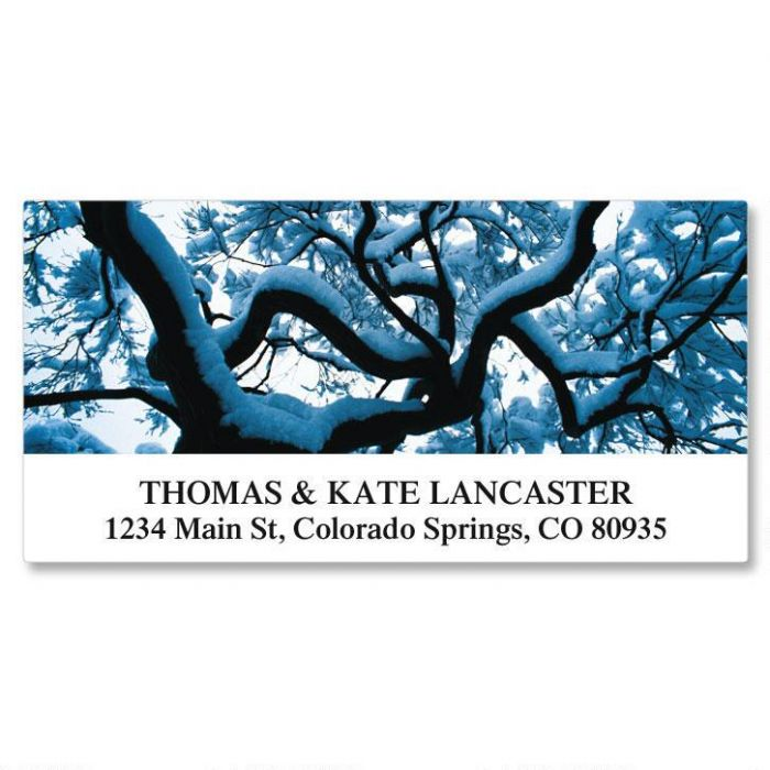 Seasons of Trees Deluxe Return Address Labels  (12 Designs)