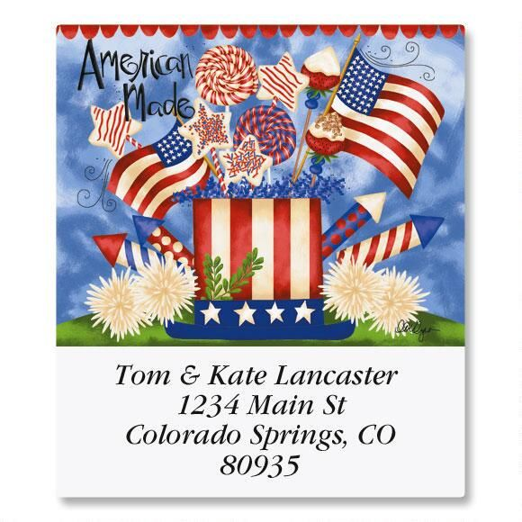 Seasons of Whimsy Select Return Address Labels  (12 Designs)