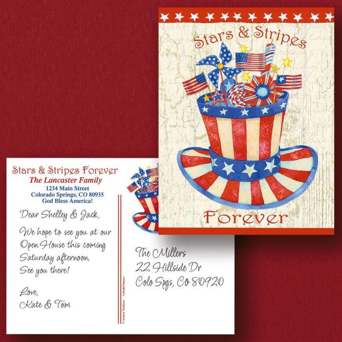 Stars & Stripes Forever Postcards