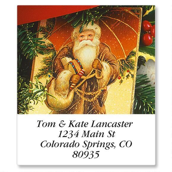 Timeless Christmas Select Return Address Labels