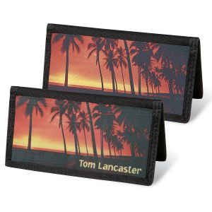 Paradise Personal Checkbook Covers